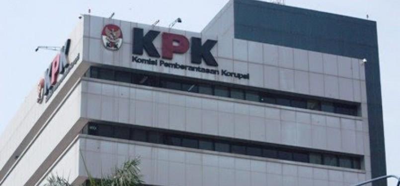 Gedung kantor KPK di Jakarta.
