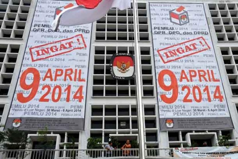 Gedung Komisi Pemilihan Umum (KPU) di Jakarta.