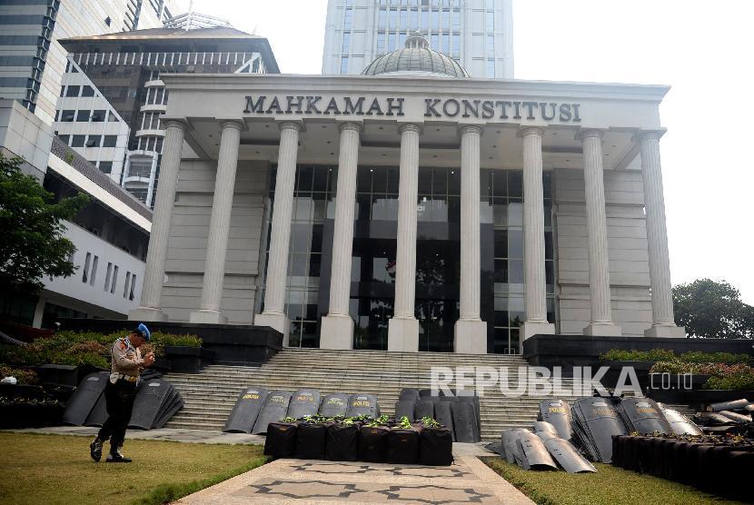 Tiga Ujian MK Adili Sengketa Pilkada. Foto: Gedung Mahkamah Konstitusi