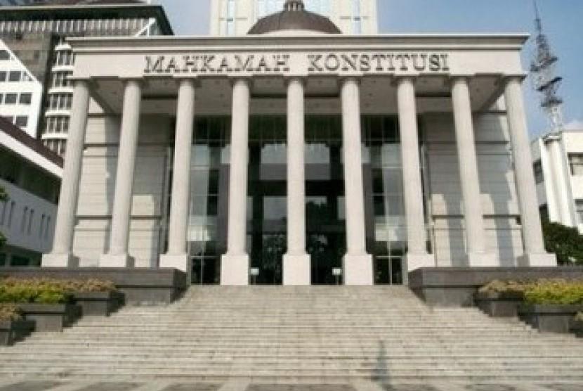 Gedung Mahkamah Konstitusi di Jakarta.