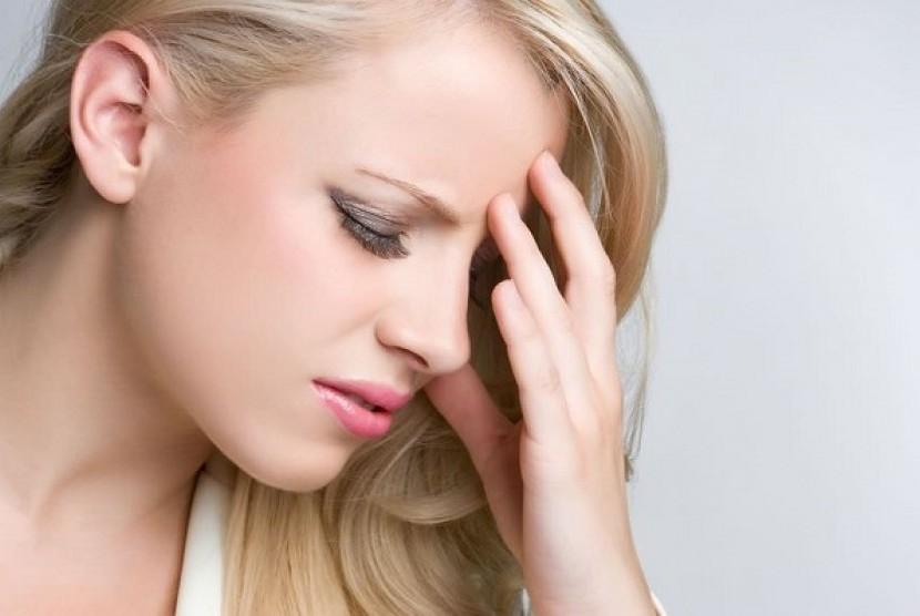 Sakit kepala (Ilustrasi)