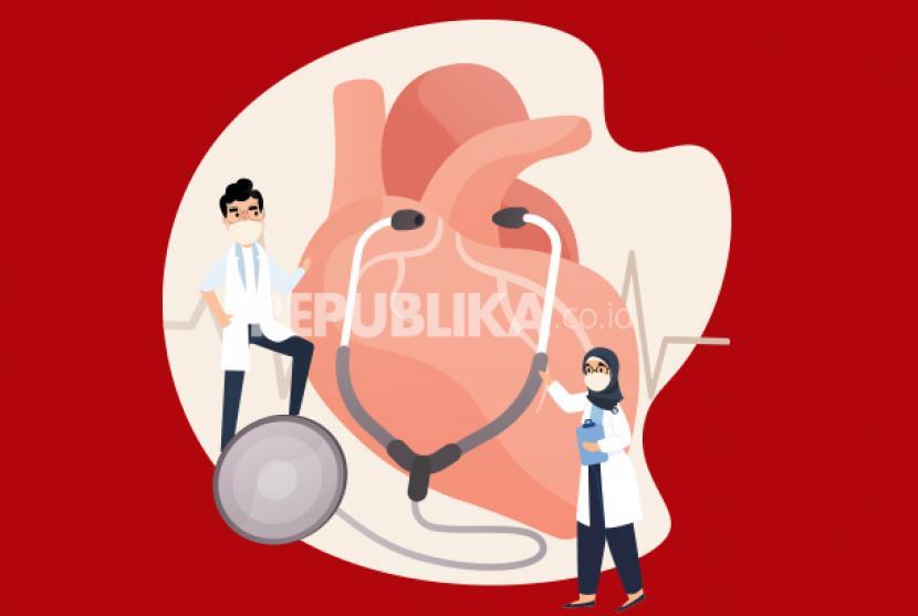 Ada cukup bukti bahwa orang dengan tekanan darah tinggi lebih mungkin mengalami sakit parah atau meninggal jika terkena Covid-19 (ilustrasi).