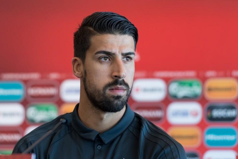 Gelandang Juventus, Sami Khedira.