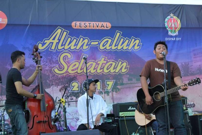 Gelaran Festival Alun-alun Selatan yang berlangsung tahun lalu.