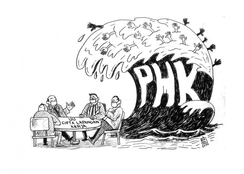 Gelombang PHK (ilustrasi)