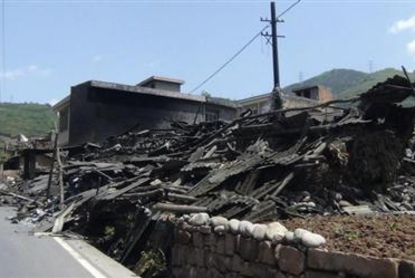 A 7.0 magnitude earthquake struck a remote, mountainous part Sichuan in China's southwest.