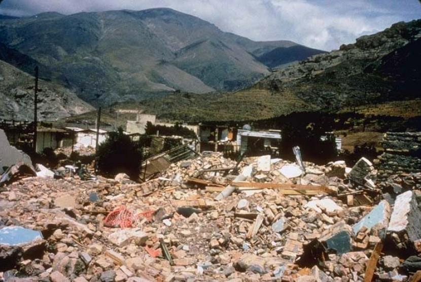 Gempa bumi di Iran pada 1990 menyebabkan 50 ribu orang meninggal.