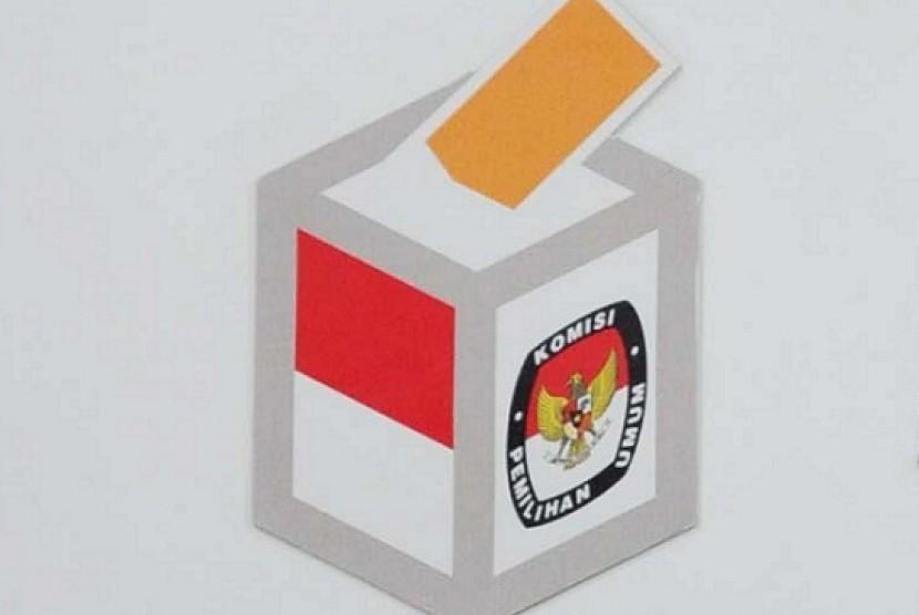 General Elections Commission (KPU) Logo (illustration)