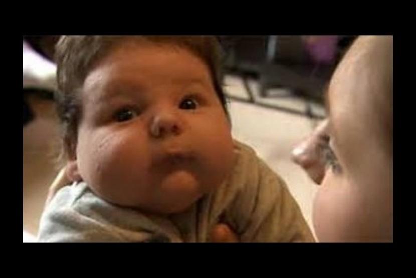 Anak bayi di Ingrris (ilustrasi)