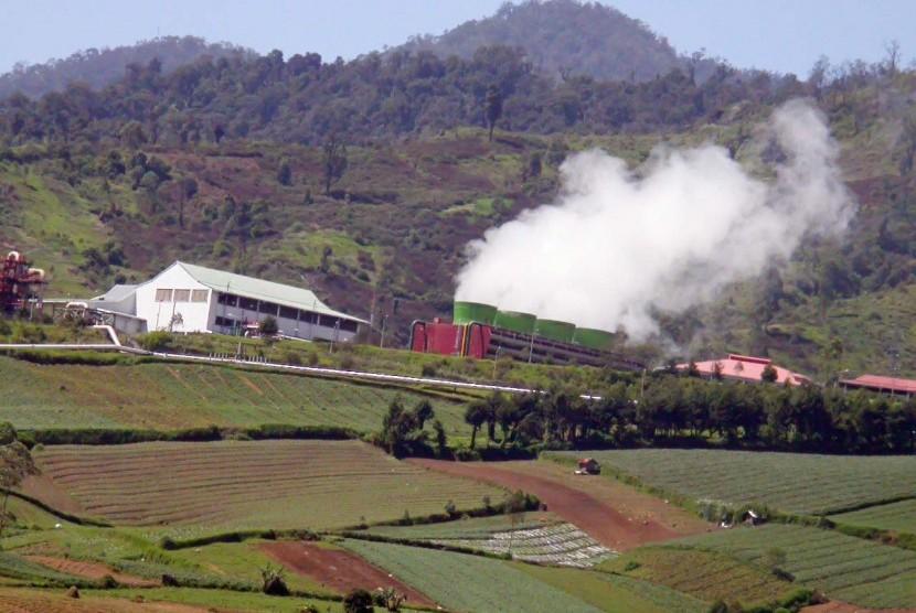 Geothermal di Pangalengan, Kabupaten Bandung. (Republika/Edi Yusuf)