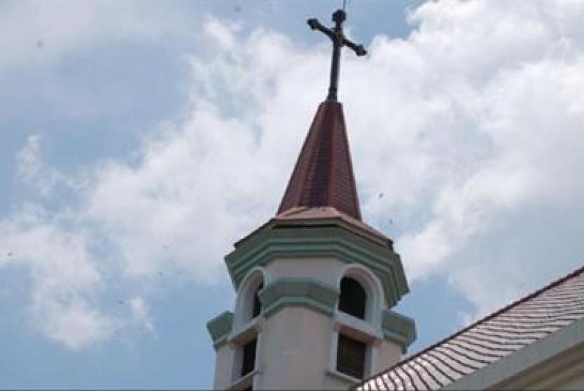 Gereja HKBP (Ilustrasi)