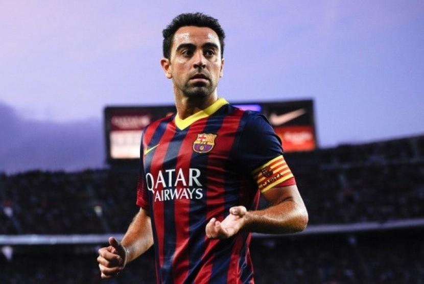 Xavi Barcelona Ingin Raih Semua Trofi Republika Online