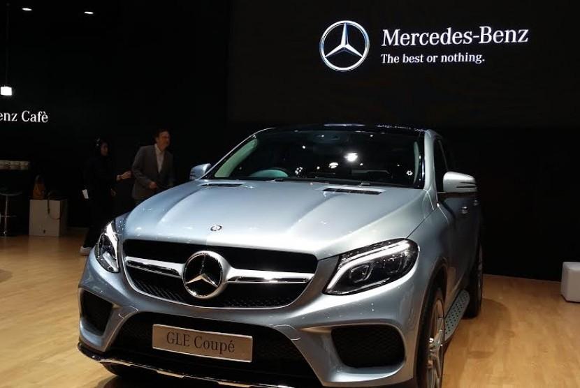 GLE coupe SUV premium andalan Mercedes Benz