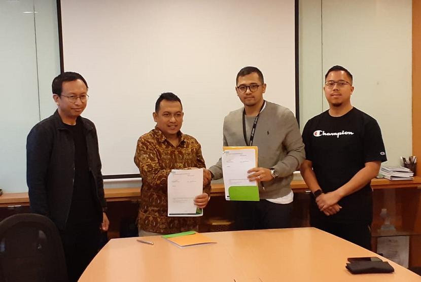 Global Wakaf-ACT menandatangani kerja sama dengan perusahaan pengembang aplikasi digital untuk edukasi, Gredu.