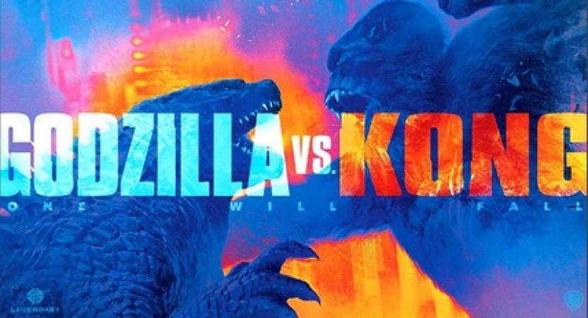 Godzilla Vs. Kong Cetak Rekor Box Office di Masa Pandemi