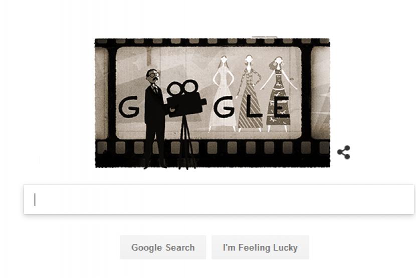Google Doodle Usmar Ismail