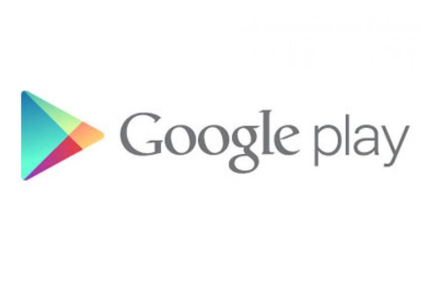 Google Play. Logo