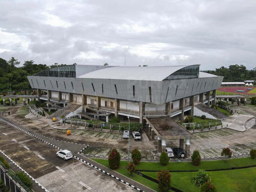 GOR Mimika, Venue Basket 5x5 dan 3x3 PON Papua di kawasan MSC.
