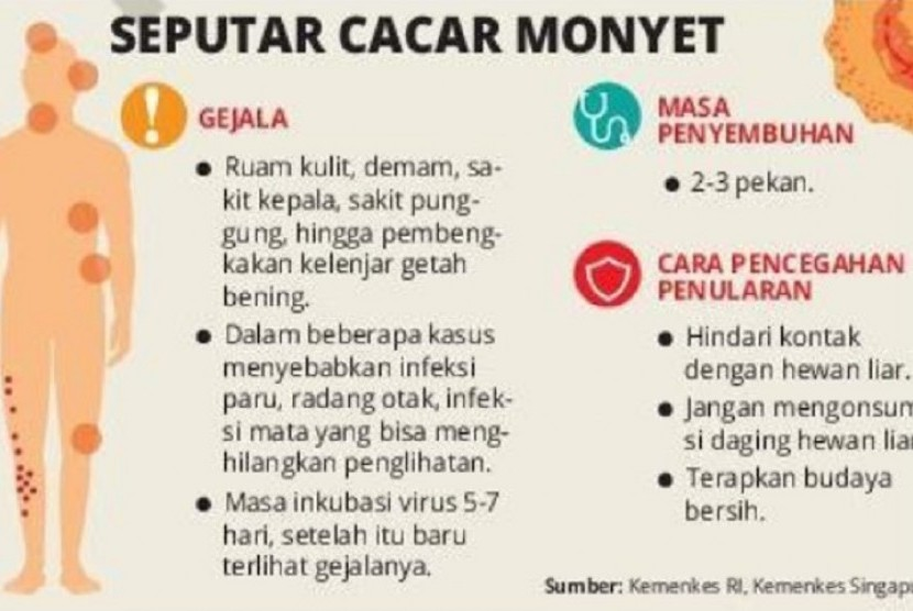 Grafik Cacar Monyet