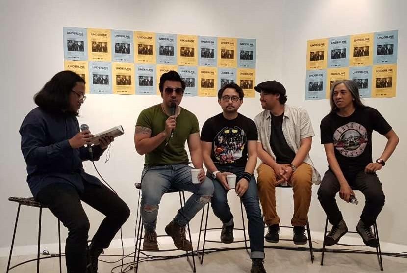 Grup musik Naif merilis video klip terbaru 'Berubah' dari album terbarunya 7 Bidadari, Jakarta, Selasa (28/8).