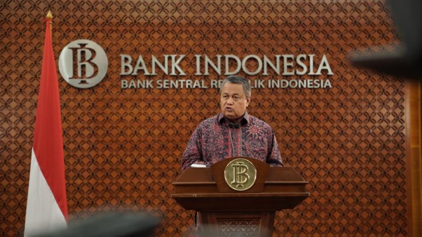 Gubernur Bank Indonesia, Perry Warjiyo.  BI memproyeksi transaksi digital meningkat pada Maret 2020 seiring kenaikan kebutuhan masyarakat.