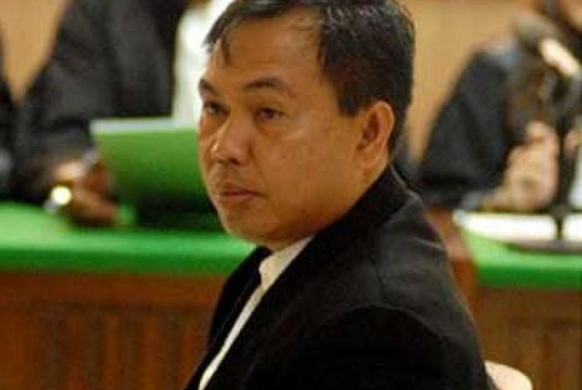 Gubernur Bengkulu non aktif, Agusrin M Najamuddin.