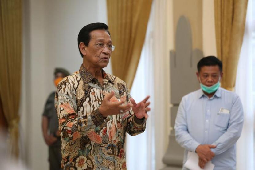 Gubernur Daerah Istimewa Yogyakarta (DIY), Sri Sultan Hamengku Buwono X.