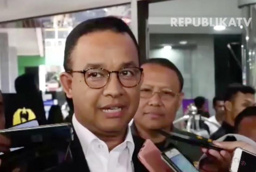 Governor of Jakarta Anies Baswedan