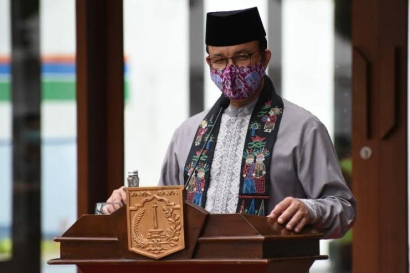 Gubernur DKI Jakarta, Anies Rasyid Baswedan.