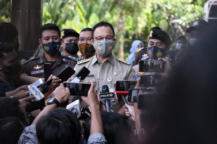 Gubernur DKI Jakarta Anies Rasyid Baswedan.