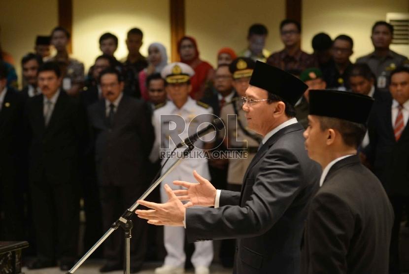 Gubernur DKI Jakarta Basuki Tjahaja Purnama alias Ahok.