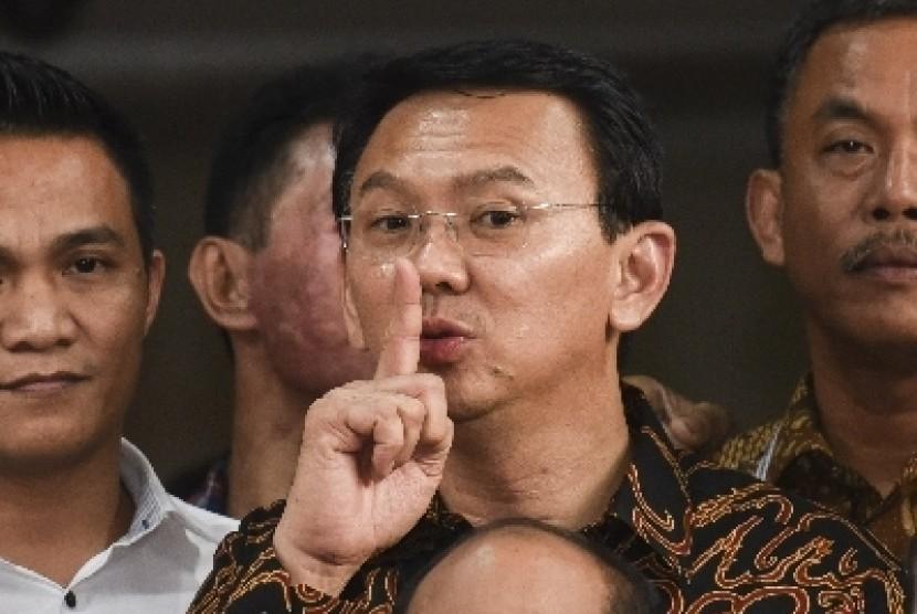 Gubernur DKI Jakarta nonaktif Basuki Tjahaja Purnama alias Ahok.