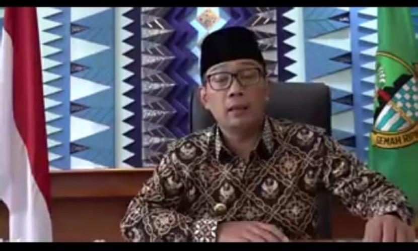 Ridwan Kamil akan Sholat Idul Fitri di Masjid Rumah Dinas. Gubernur Jabar Ridwan Kamil.