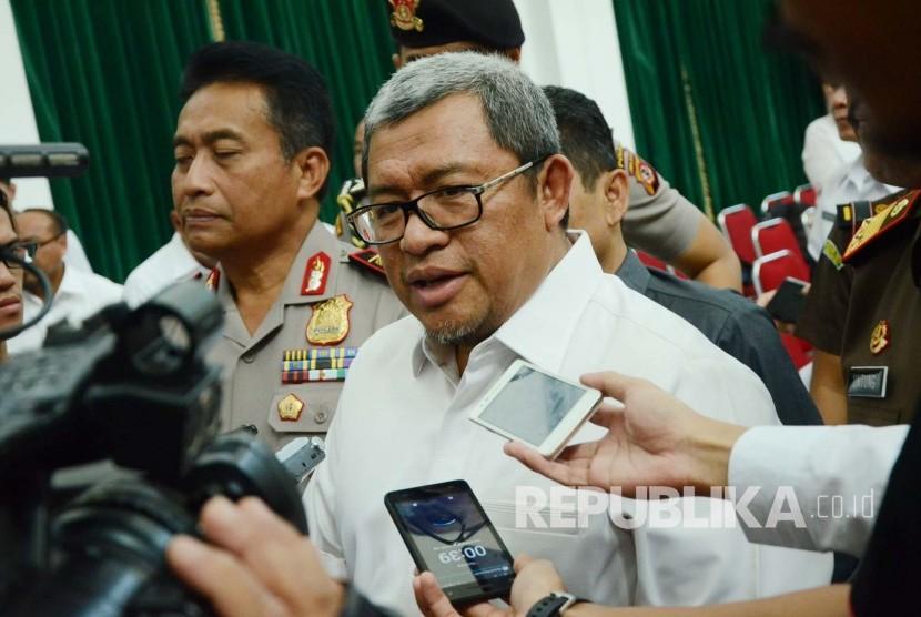 Gubernur Jawa Barat Ahmad Heryawan. (Republika/Edi Yusuf)
