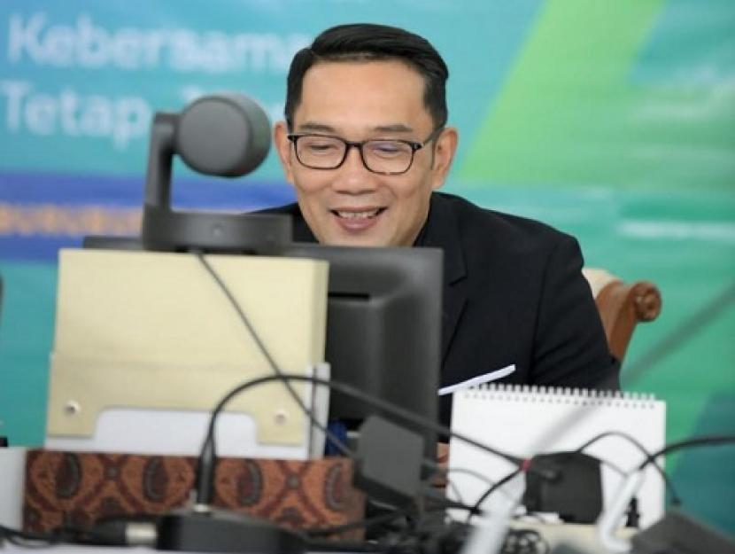 Gubernur Jawa Barat (Jabar), M Ridwan Kamil