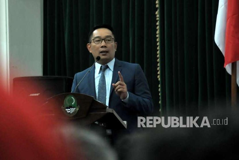 Gubernur Jawa Barat Ridwan Kamil (Emil).