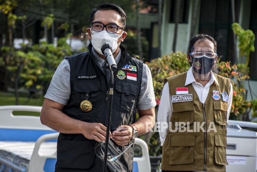 Ridwan Kamil Lobi 70 Perusahaan Cari Dana Tangani Covid-19. Gubernur Jawa Barat Ridwan Kamil.