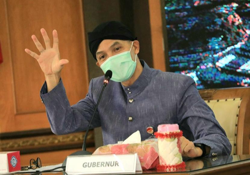 Gubernur Jawa Tengah (Jateng), Ganjar Pranowo.