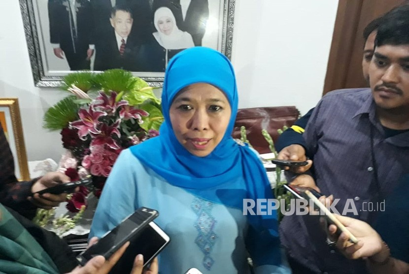 Gubernur Jawa Timur terpilih versi hitung cepat, Khofifah Indar Parawansa