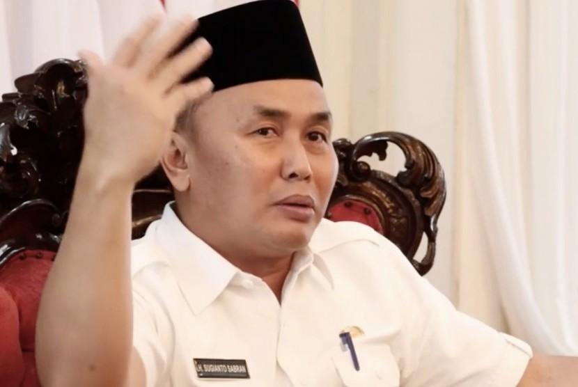 Gubernur Kalimantan Tengah (Kalteng), Sugianto Sabran