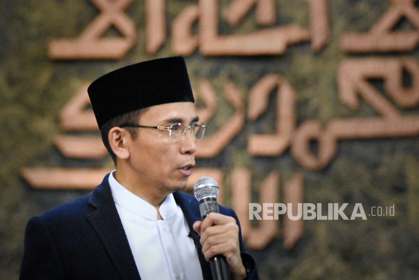 Gubernur NTB TGB Muhammad Zainul Majdi atau Tuan Guru Bajang (TGB)