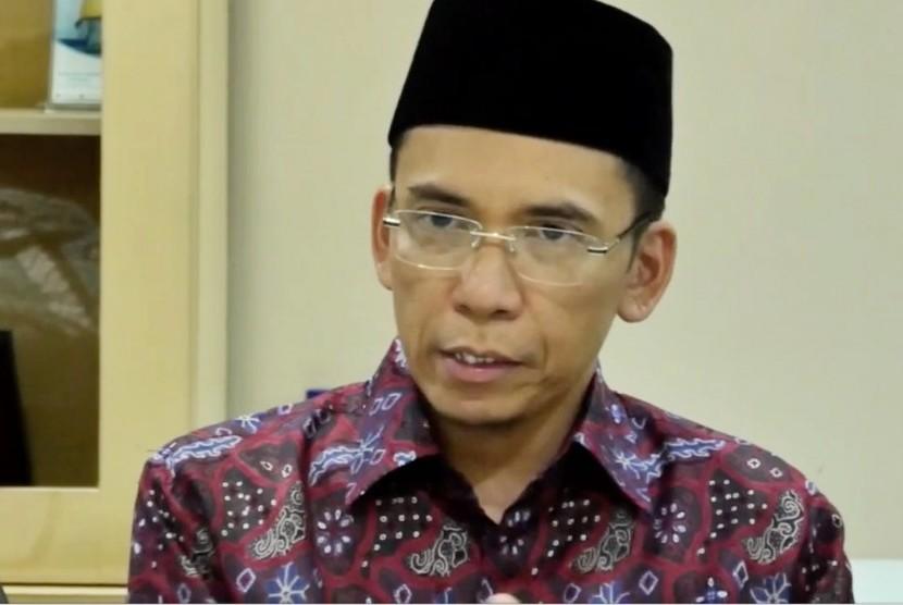 Gubernur Nusa Tenggara Barat (NTB), M Zainul Majdi atau Tuan Guru Bajang (TGB).