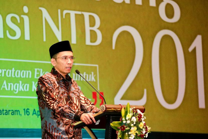Gubernur Nusa Tenggara Barat (NTB) Muhammad Zainul Majdi atau Tuan Guru Bajang (TGB).