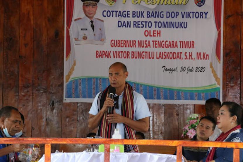 Gubernur Nusa Tenggara Timur (NTT), Viktor Bungtilu Laiskodat.