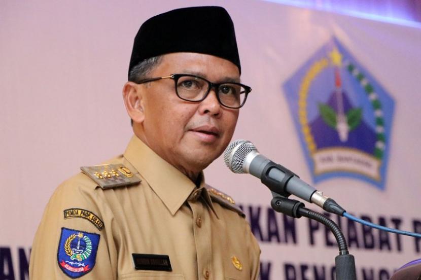 Gubernur Sulawesi Selatan HM Nurdin Abdullah.