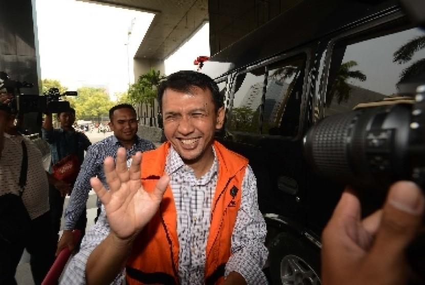 Gubernur Sumatra Utara nonaktif Gatot Pujo Nugroho.
