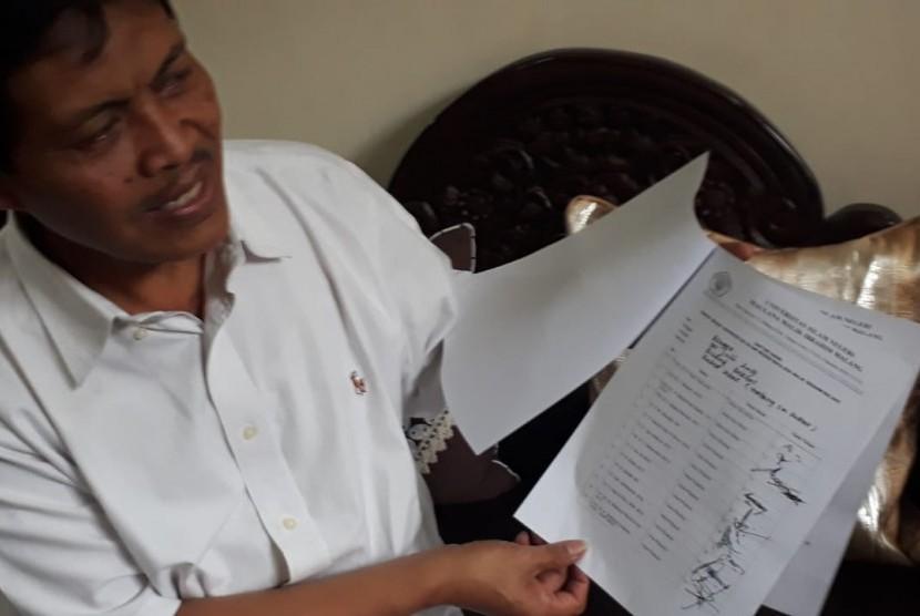 Guru Besar UIN Malang Profesor Mudjia Rahardjo mengungkapkan, kejanggalan pemilihan rektor pada 2017 lalu di kediamannya, Kota Malang, Rabu sore (20/3).