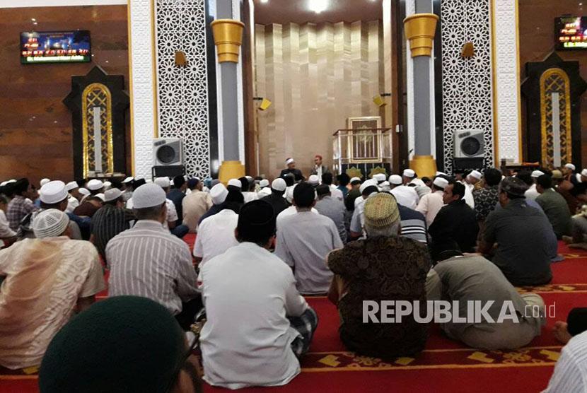 kajian Islama di Masjid Hubbul Wathan, NTB (Ilustrasi)