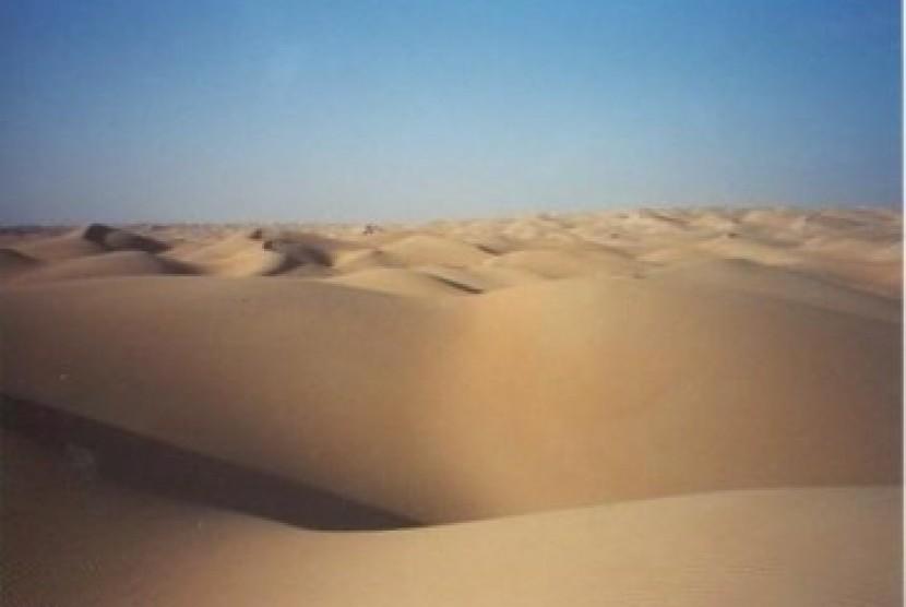 Gurun pasir di Mauritania