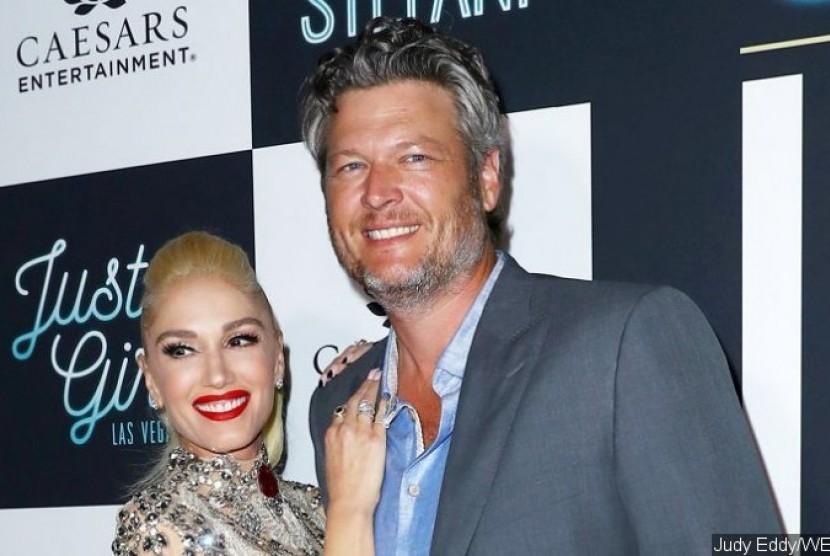 Gwen Stefani dan Blake Shelton.